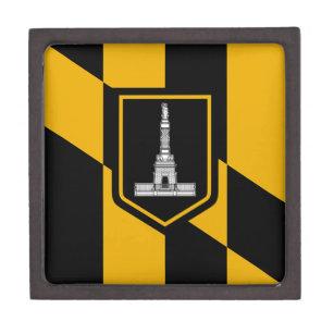 Baltimore City Flag Premium Gift Box