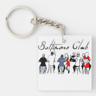 Baltimore Club Music Keychain