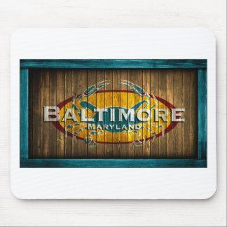 Baltimore Crab Mouse Pad