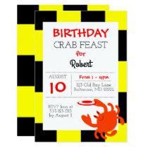 Baltimore Crab Nautical All Occasion Invitation