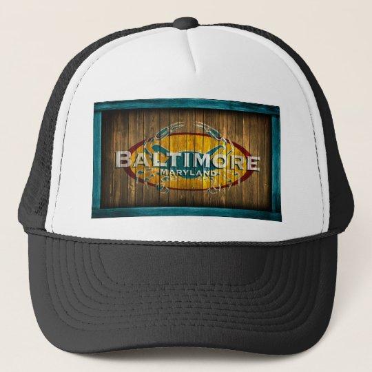 Baltimore Crab Trucker Hat