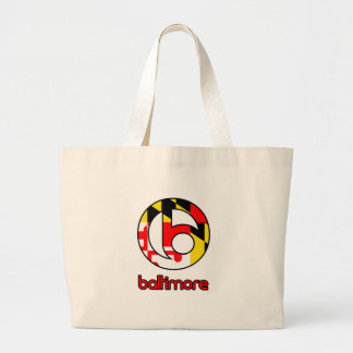 Baltimore Custom Gifts Large Tote Bag