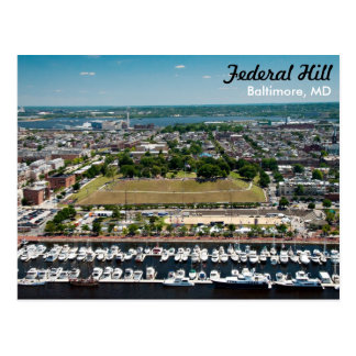 Baltimore Federal Hill Park Postcard