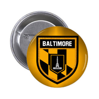 Baltimore Flag Pinback Button