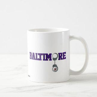 Baltimore Football Classic White Coffee Mug