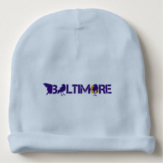Baltimore Football Fans Baby Beanie