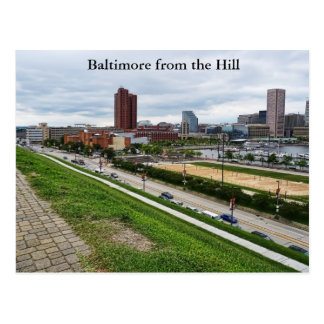 Baltimore from the Hill Postcard