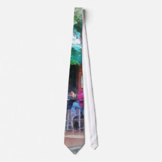 'Baltimore - Happy Hour In Fells Point': Fine Art Neck Tie
