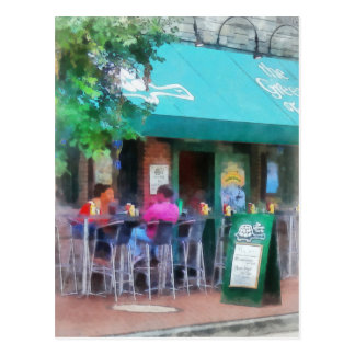 'Baltimore - Happy Hour In Fells Point': Fine Art Post Cards