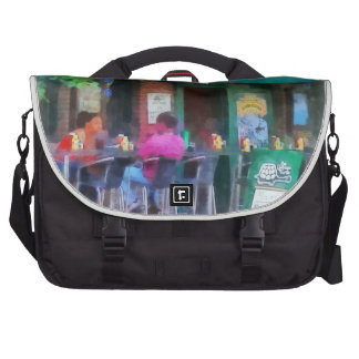 Baltimore - Happy Hour in Fells Point Laptop Messenger Bag