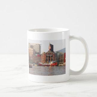 Baltimore Harbor Classic White Coffee Mug