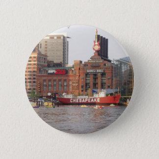 Baltimore Harbor Pinback Button