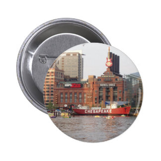 Baltimore Harbor Pinback Button