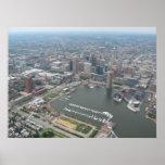 Baltimore Harbor Poster