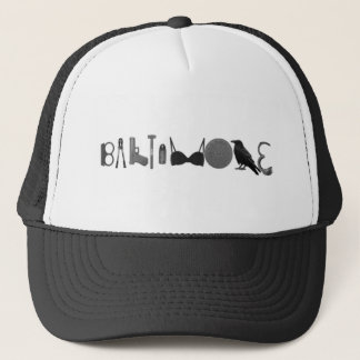 baltimore hieroglyphics trucker hat