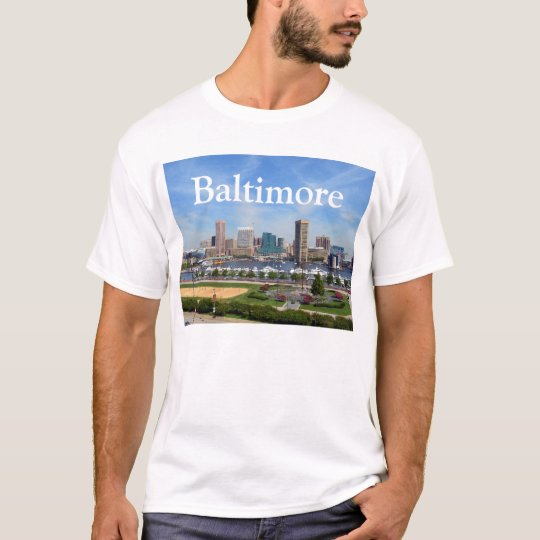 Baltimore Inner Habor in Daylight T-Shirt