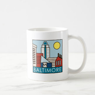 Baltimore Inner Harbor Coffee Mug
