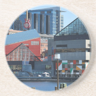 Baltimore Inner Harbor Drink Coaster