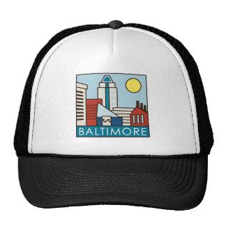 Baltimore Inner Harbor Trucker Hat