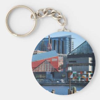 Baltimore Inner Harbor Keychain
