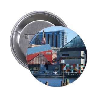 Baltimore Inner Harbor Pinback Button