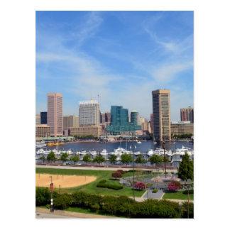 Baltimore Inner Harbor Postcard
