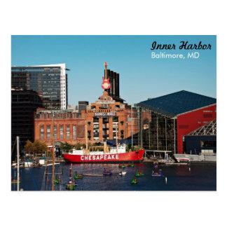 Baltimore Inner Harbor - Power Plant Post Cards