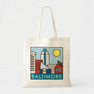 Baltimore Inner Harbor Tote Bag