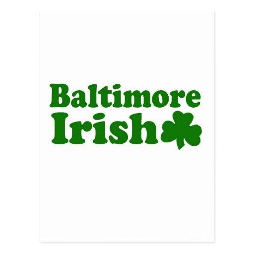 Baltimore Irish Post Cards