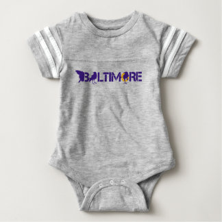 Baltimore is for Football Baby Bodysuit
