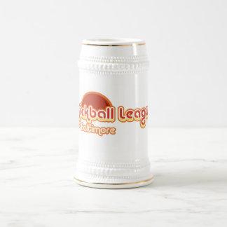Baltimore Kickball Beer Stein 18 Oz Beer Stein