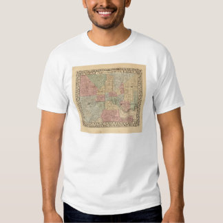 Baltimore Map by Mitchell Shirt