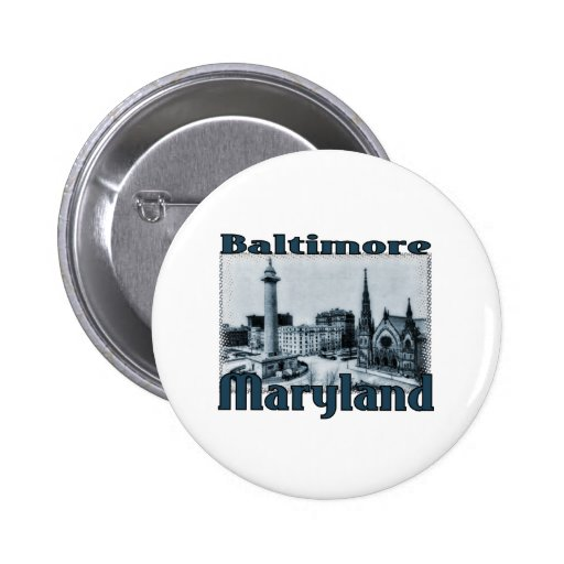 Baltimore, Maryland Button