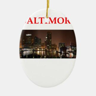 Baltimore Maryland Ornamento Para Reyes Magos