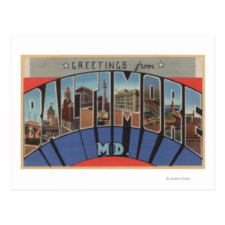 Baltimore, Maryland - escenas grandes de la letra Postal