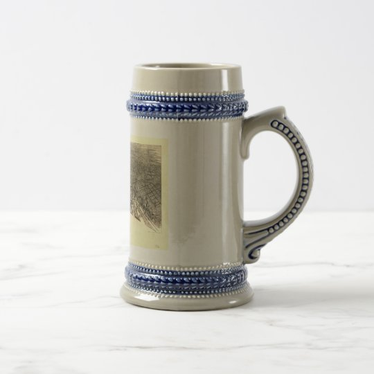 Baltimore, Maryland in 1911 Beer Stein