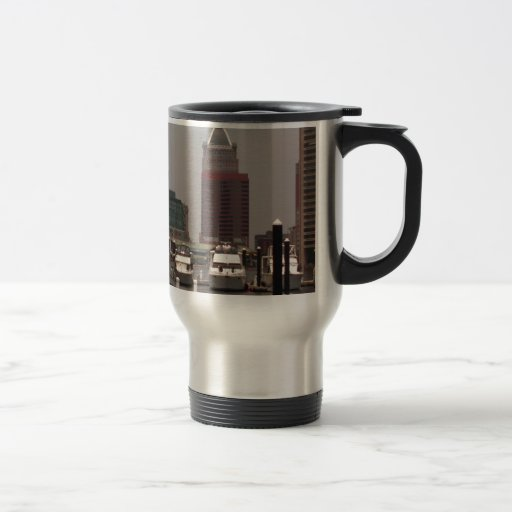 Baltimore Maryland Innerharbor Souveneirs 15 Oz Stainless Steel Travel Mug