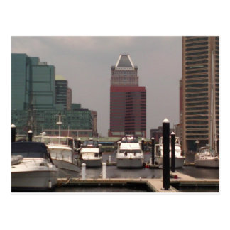 Baltimore Maryland Innerharbor Souveneirs Postcard