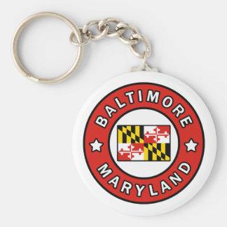 Baltimore Maryland Keychain