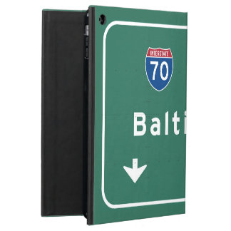 Baltimore Maryland md Interstate Highway Freeway : iPad Air Cases