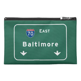 Baltimore Maryland md Interstate Highway Freeway : Travel Accessories Bag