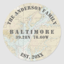 Baltimore Maryland Nautical Envelope Seals Boaters