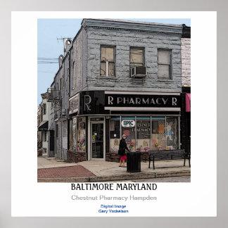 Baltimore Maryland Poster