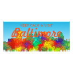 BALTIMORE, MARYLAND SG - RACK CARD