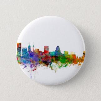 Baltimore Maryland Skyline Button
