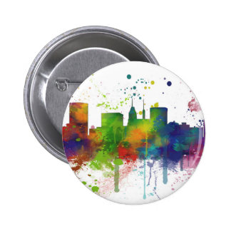 BALTIMORE MARYLAND SKYLINE BUTTON