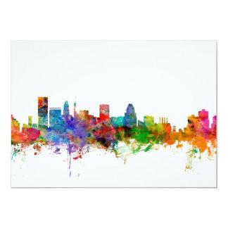 Baltimore Maryland Skyline Card