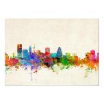 Baltimore Maryland Skyline Cityscape 5x7 Paper Invitation Card