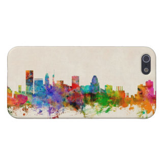 Baltimore Maryland Skyline Cityscape iPhone 5 Case