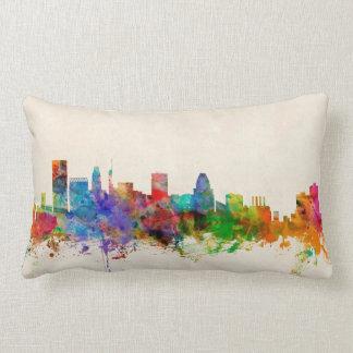 Baltimore Maryland Skyline Cityscape Pillow